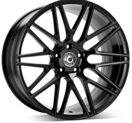 "19"" WRATH WHEELS WF3 - GLOSSY BLACK – FLOW FORMING"