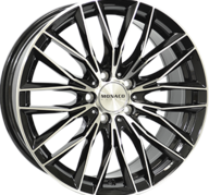 "18"" MONACO GP2 - Gloss Black / Polished 8x18 - ET35"