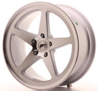 "19"" JAPAN RACING JR24 MACHINED SILVER"