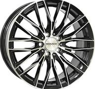 "19"" MONACO GP2 - Gloss Black / Polished 9,5x19 - ET40"