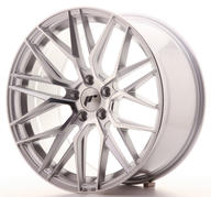 ERBJUDANDE - Japan Racing JR28 SILVER MACHINED - 4 st. - 5x120 - 9,5x19 - ET35 - 72,6