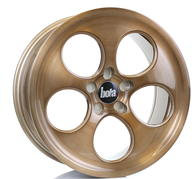 "18"" BOLA WHEELS B5 - BRONZE BRUSHED POLISHED FACE"