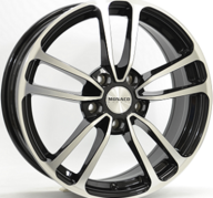 "16"" MONACO CL1 - Gloss Black / Polished 6,5x16 - ET45"