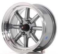 "14"" JAPAN RACING JR19 GUN METAL"