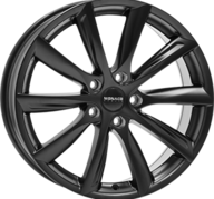 "19"" MONACO GP6 - Dull Black 8,5x19 - ET35"