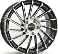 "19"" MONACO TURBINE - Gloss Black / Polished 8,5x19 - ET35"