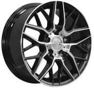 "18"" 1AV WHEELS - ZX11 - BLACK POLISHED FACE - 1000 KG - 5X160 - 8x18 - ET50 - Nav 65,1"