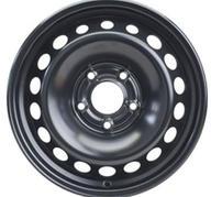 """15"""" KRONPRINZ STEEL STAAL - Black 6,5x15 - ET43"""