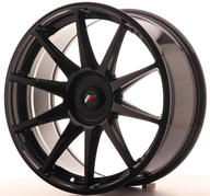 "19"" JAPAN RACING JR11 GLOSSY BLACK"