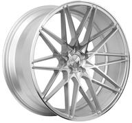 "22"" 1AV WHEELS - ZX4 - SILVER POLISHED"