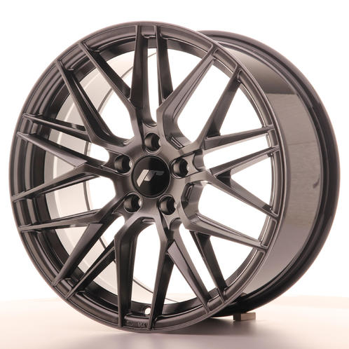 "18"" JAPAN RACING JR28 HYPER BLACK"