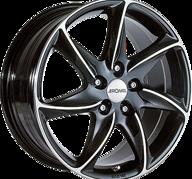 "16"" RONAL R51 - Gloss Black / Polished 7x16 - ET50"