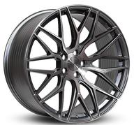 "19"" IMAZ WHEELS FF533 - GLOSSY TITANIUM BRUSH"
