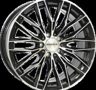 "19"" MONACO GP2 - Gloss Black / Polished 8,5x19 - ET40"