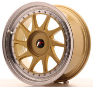"18"" JAPAN RACING JR26 GOLD"