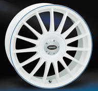 "18"" TD Monza RS - White Blue"