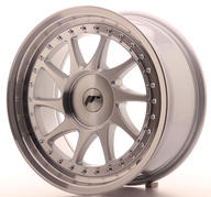 "17"" JAPAN RACING JR26 SILVER MACHINED"