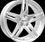 "17"" MONACO GP1 - Silver 7,5x17 - ET42"
