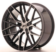 "22"" JAPAN RACING JR28 BLACK MACHINED"