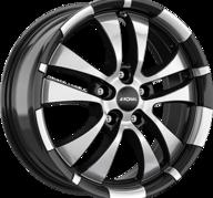"16"" RONAL R59 - Gloss Black / Polished 7x16 - ET35"