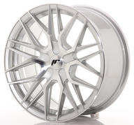 "17"" JAPAN RACING JR28 SILVER MACHINED"