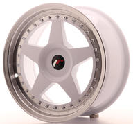 "17"" JAPAN RACING JR6 WHITE"