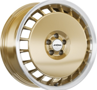 "16"" RONAL R50A - Gold / Polish 7,5x16 - ET38"