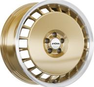 "18"" RONAL R50A - Gold / Polish 8x18 - ET45"