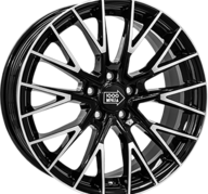 "18"" MILLE MIGLIA 1009 - Gloss Black / Polished 8x18 - ET45"