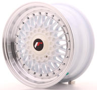 "15"" JAPAN RACING JR9 WHITE"