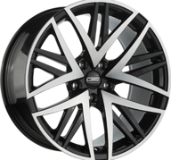 "19"" CMS B1 - Gloss Black / Polished 8,5x19 - ET35"
