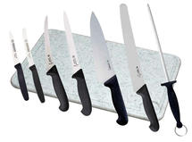 Kitchen set Giesser (cut/trim), 6 knives+Steel+Board
