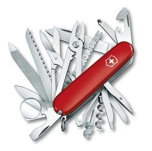 Fickkniv SwissChamp, röd