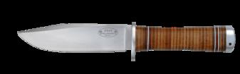 Kniv NL4, 13 cm / läderhandtag (B)