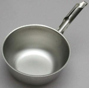 Scoop water 2 L, stainless