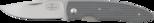 Folding knife PCgh, 73 mm CoS/grey