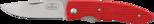 Fällkniv PCrr, 73 mm CoS/röd (UTGÅR)