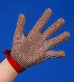 Chain mesh glove 5-finger