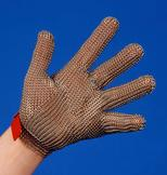 Chain mesh glove Protec 5-finger
