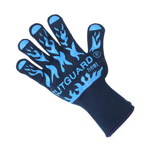 Handske grill/värme, blå
