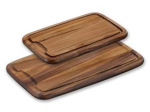 Skärbräda trä 360x230x18 mm