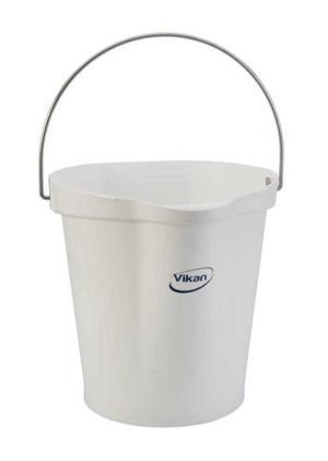 Hink Vikan 12 L, plast / VIT