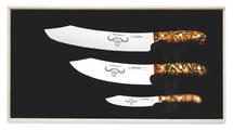 Knife Set PremiumCut 1996-3, Spicy Orange