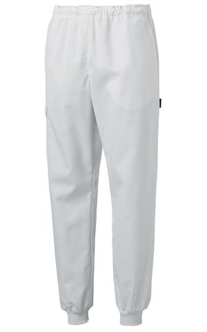 Trousers Unisex white/cuff