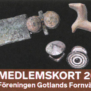 SPECIAL OFFER! Membership for one person in Gotlands Fornvänner 2019