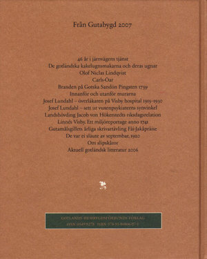 Från Gutabygd 2007