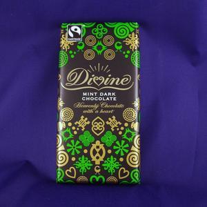 Mörk choklad med mintkrisp