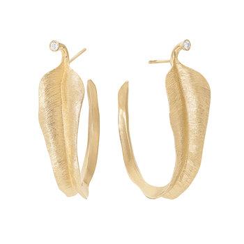 Leaves earring