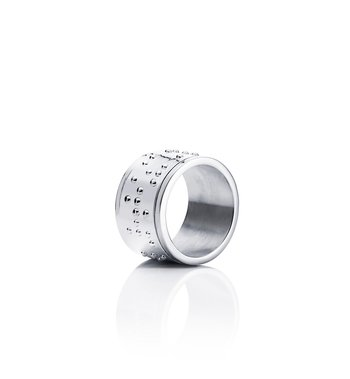EFVA ATTLING Make Love Not War Ring