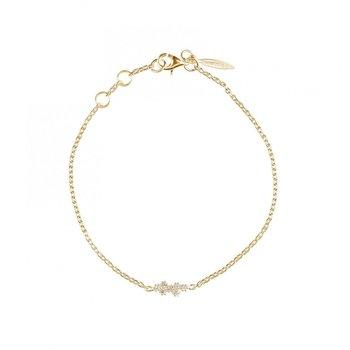 Milky Way Drop Bracelet Gold